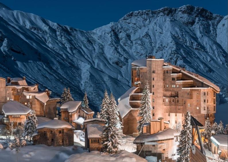 Французские Альпы - одно из самых популярных мест для зимнего отдыха / Фото Регионального комитета по туризму Овернь-Рона-Альпы