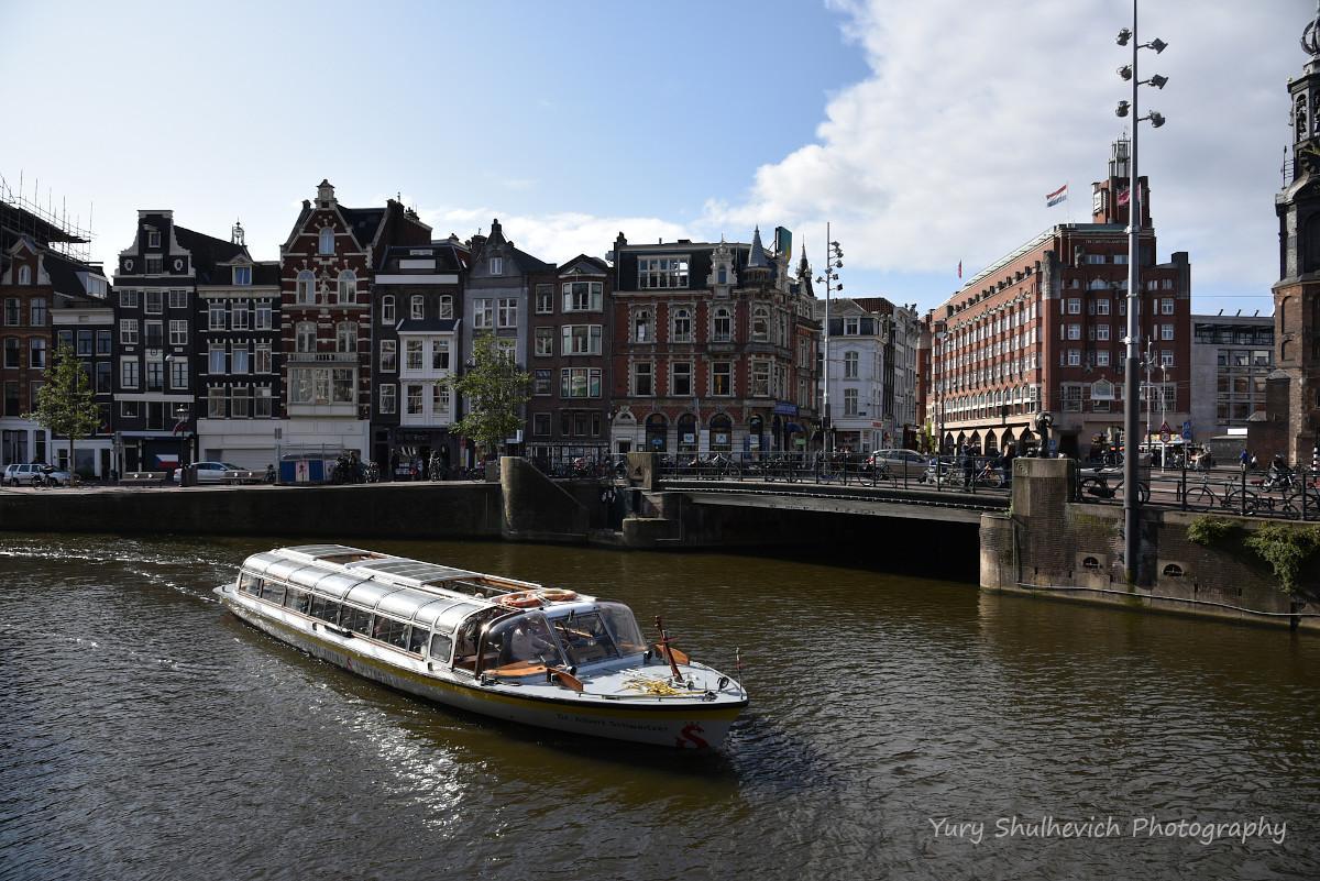 Амстердам дуже гарне місто / фото Yury Shulhevich