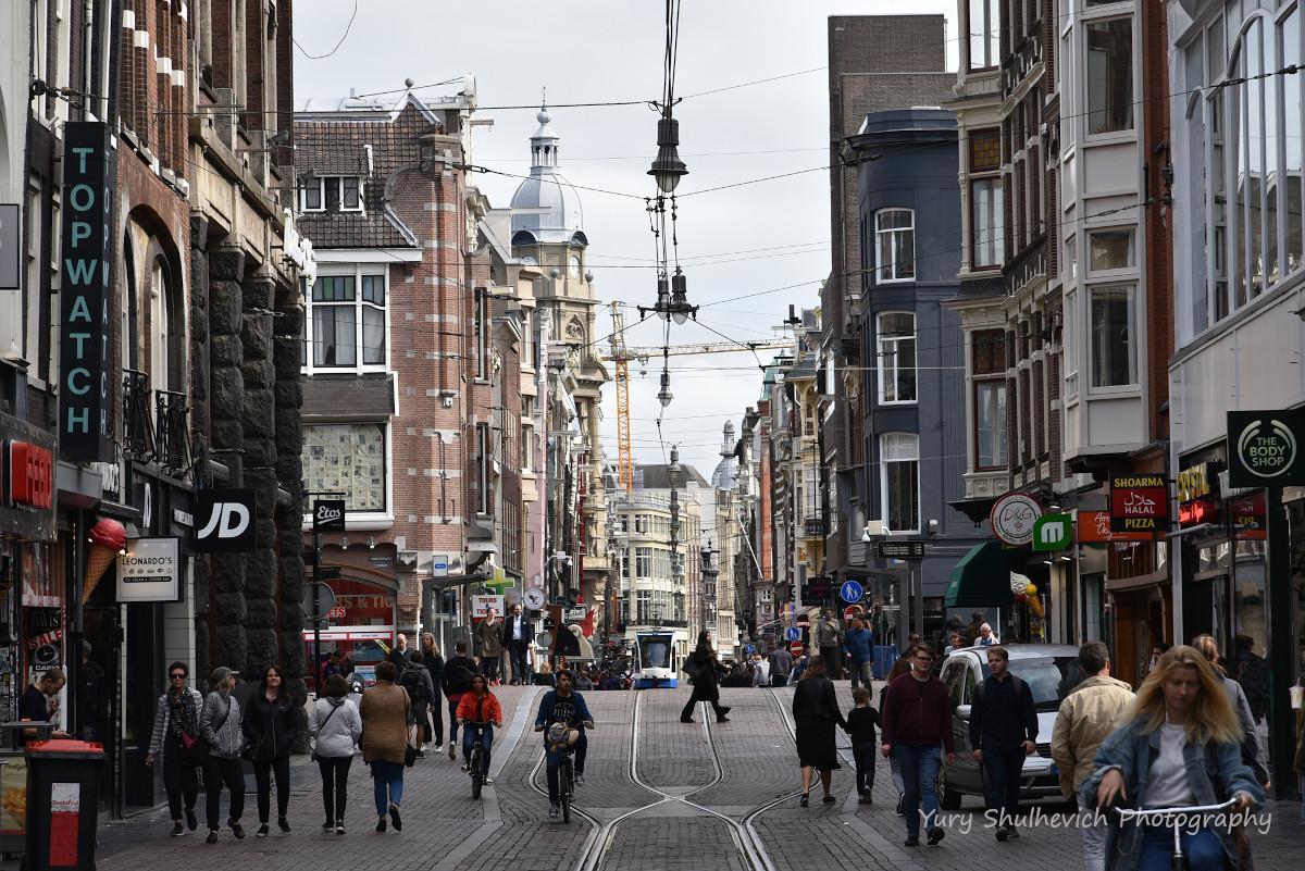 Амстердам став туристичною Меккою / фото Yury Shulhevich