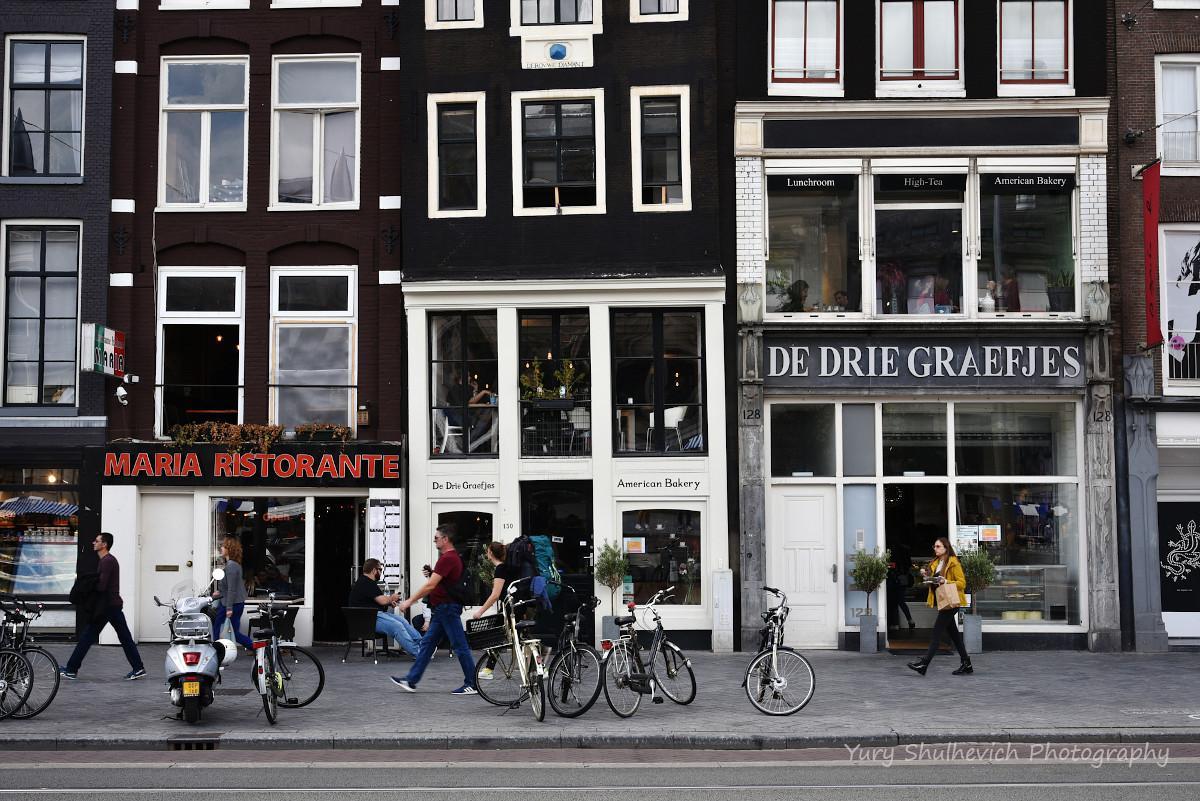 В Амстердамі багато цікавих закладів / фото Yury Shulhevich