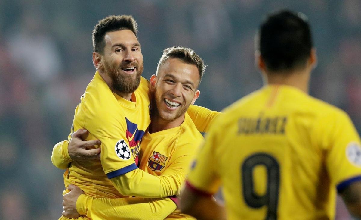 Барселона победила в Чехии / REUTERS