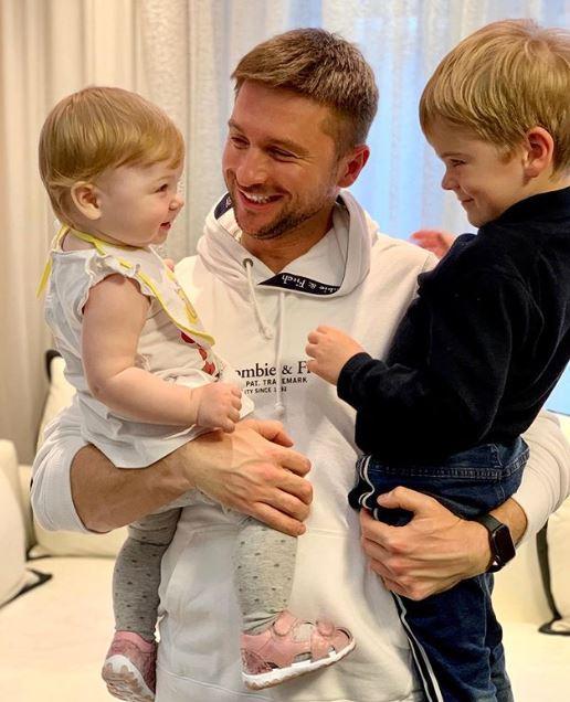 Лазарев показал своих детей / instagram.com/lazarevsergey