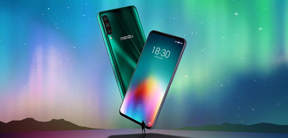 Новый флагманский смартфон Meizu 16T / фото Meizu