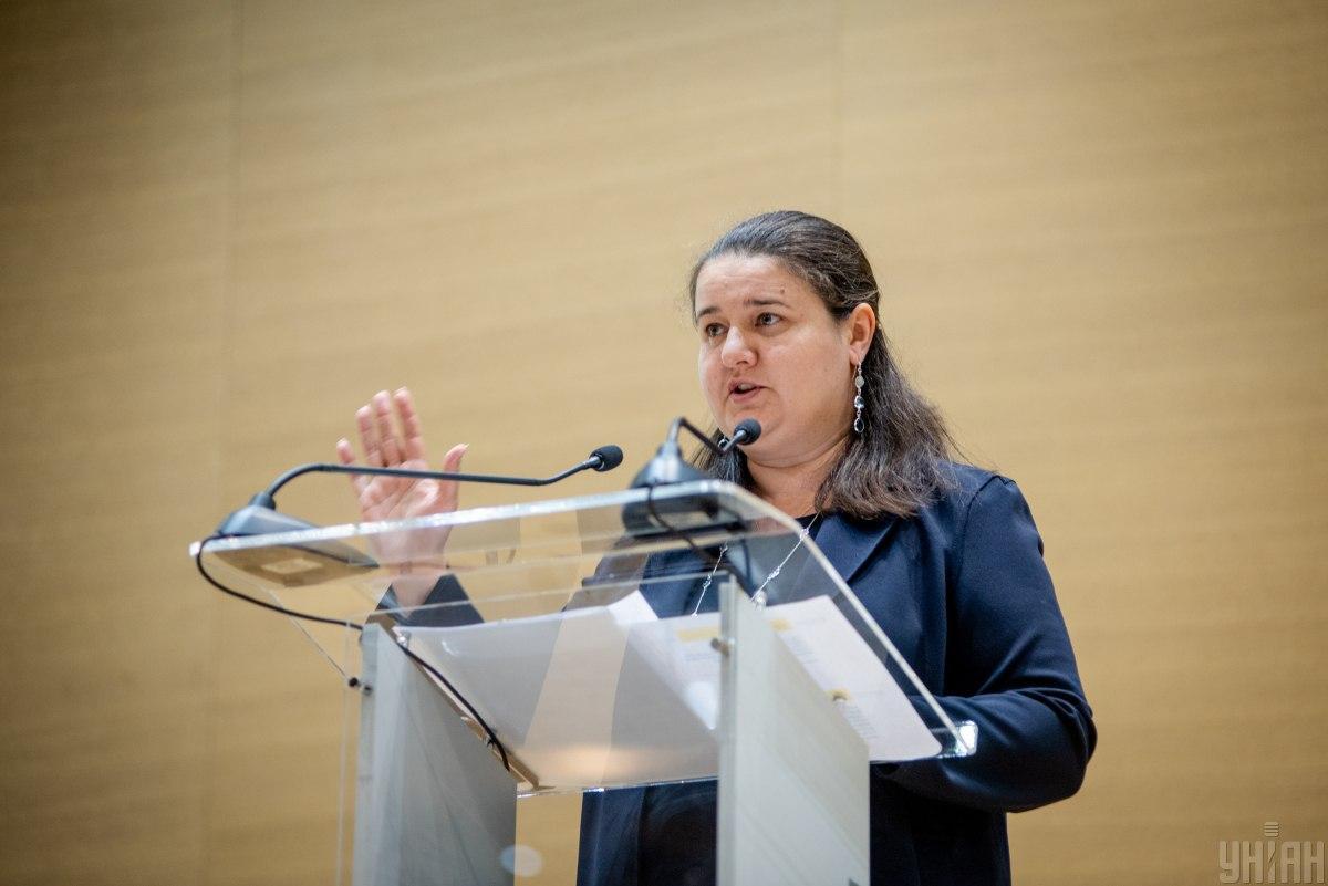 Oksana Markarova / Photo from UNIAN