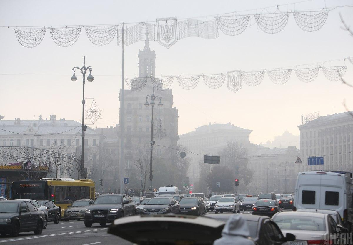 В течение дня в Киеве будет идти дождь / УНИАН