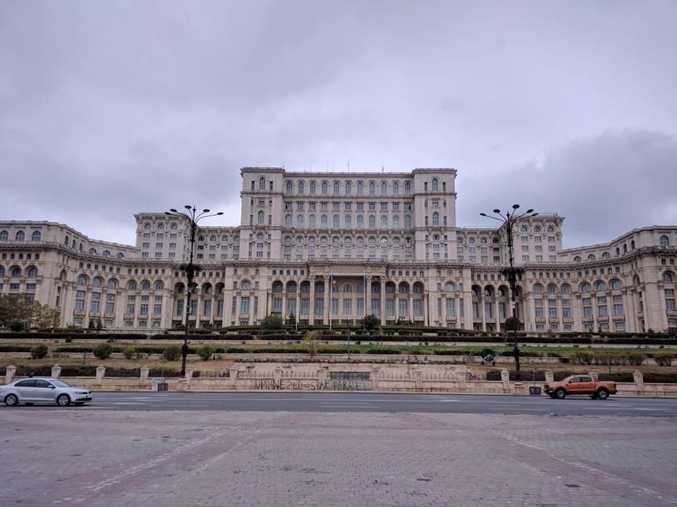 Дворец Парламента - Бухарест / Фото Юлия Максимова