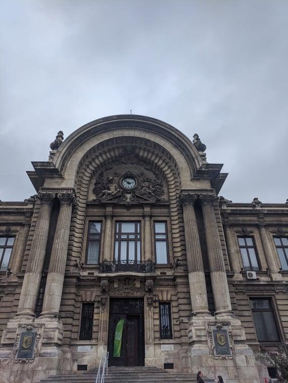 Ичторическое здание одного из банков - Бухарест / Фото Евгений Матюшенко