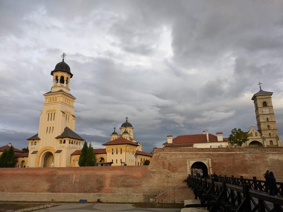 Румыния хранит в себе немало секретов, один из них - Цитадель Алба Юлия / Фото Юлия Максимова