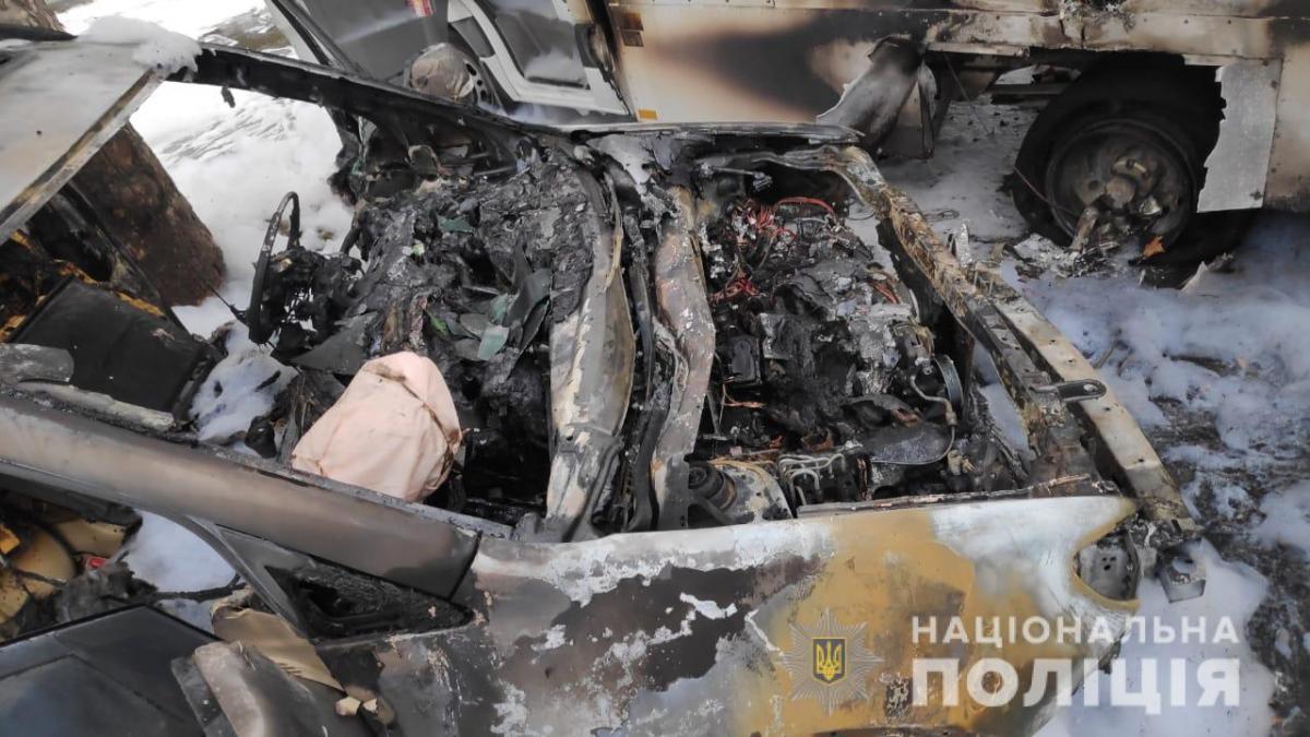 Иномарка принадлежит одному из руководителей поста «Черноморский» / ГУНП в Одесской области