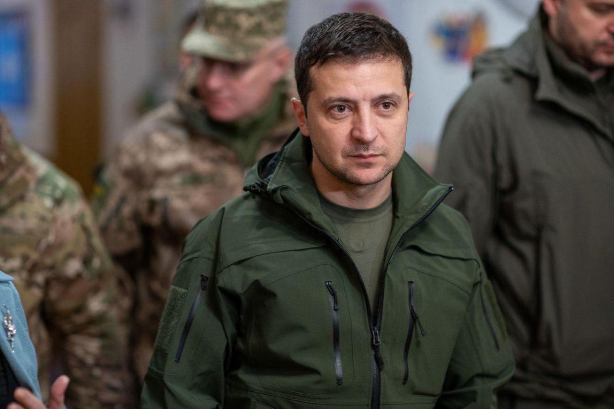 20 ноября Зеленский в Станице Луганской осматривал восстановленный мост \ фото t.me/V_Zelenskiy_official