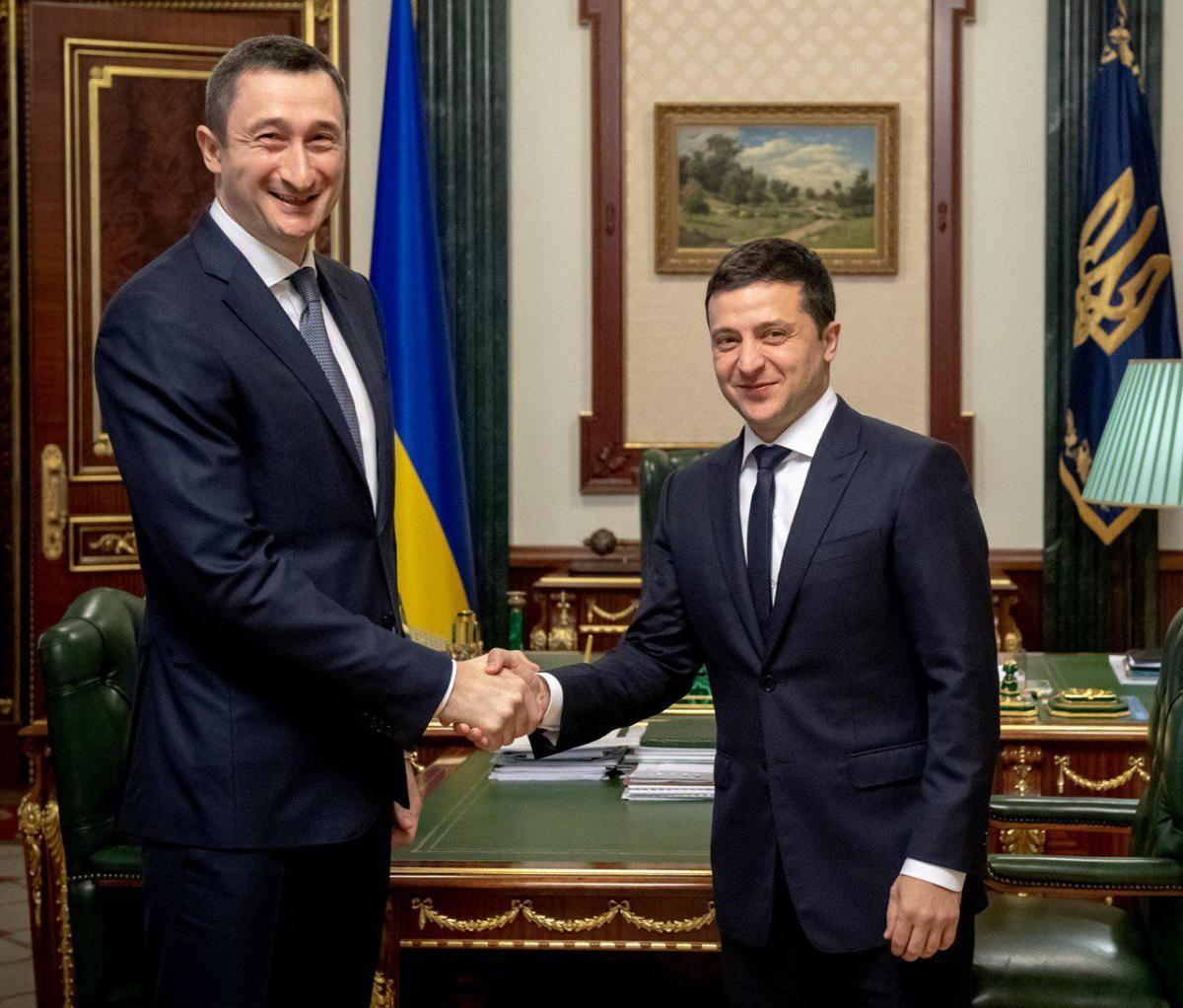 Зеленский назначил Чернышева председателем Киевской ОГА / фото - Офис Президента