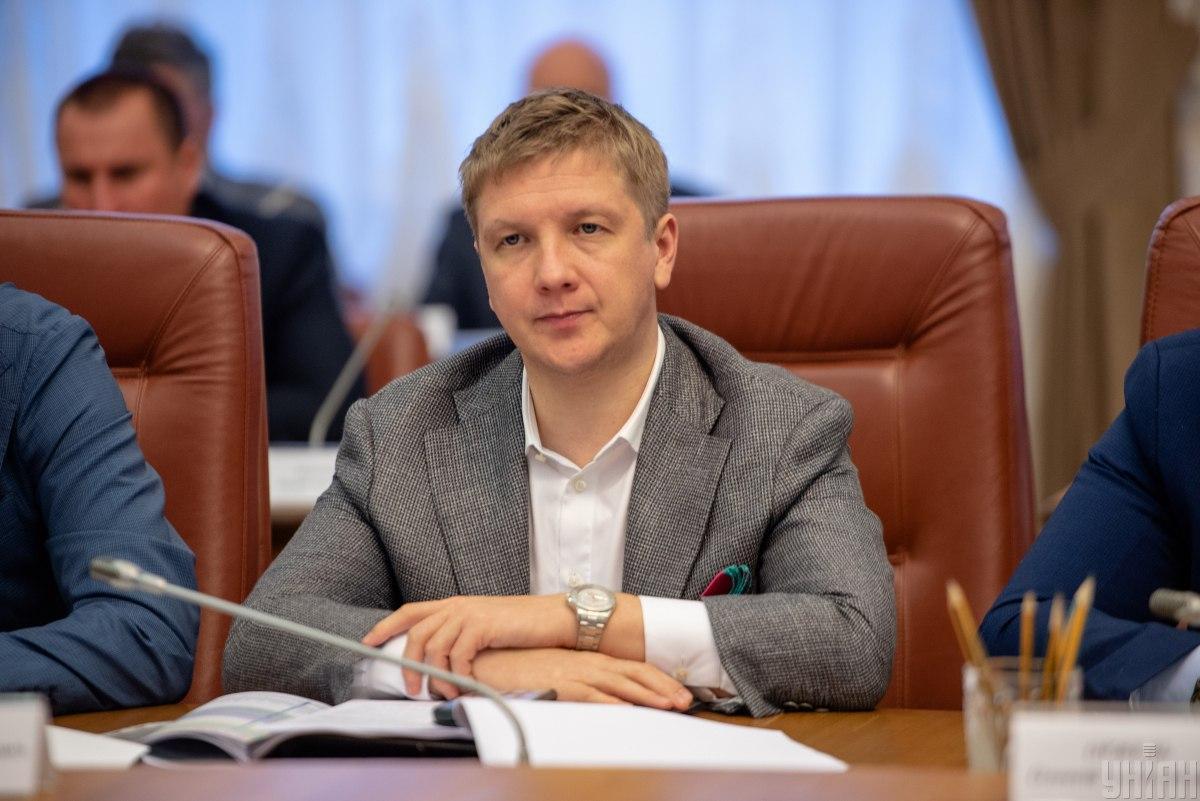 """Глава """"Нафтогаз Украины"""" Андрей Коболев / фото УНИАН"""