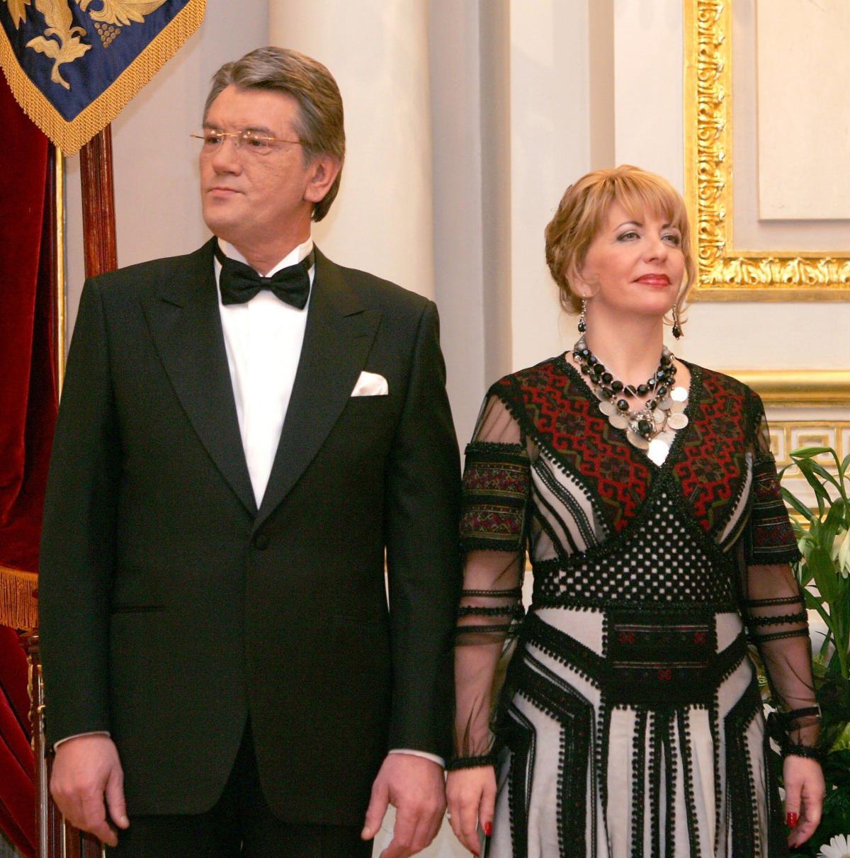 Катерина Ющенко активно використовувала традиційні українські національні мотиви в одязі / фото УНІАН