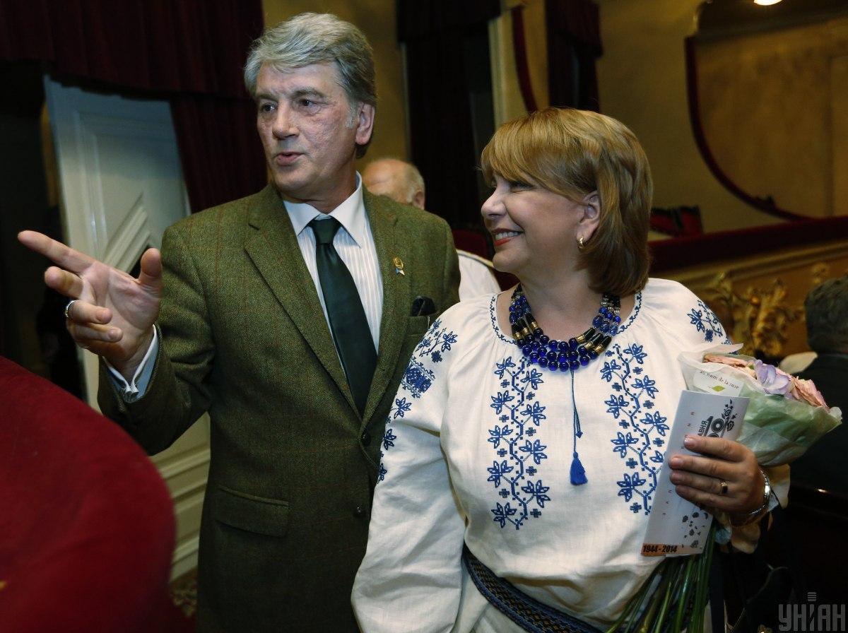 До Катерини Ющенко вважали, що національному одягу місце в музеї / фото УНІАН