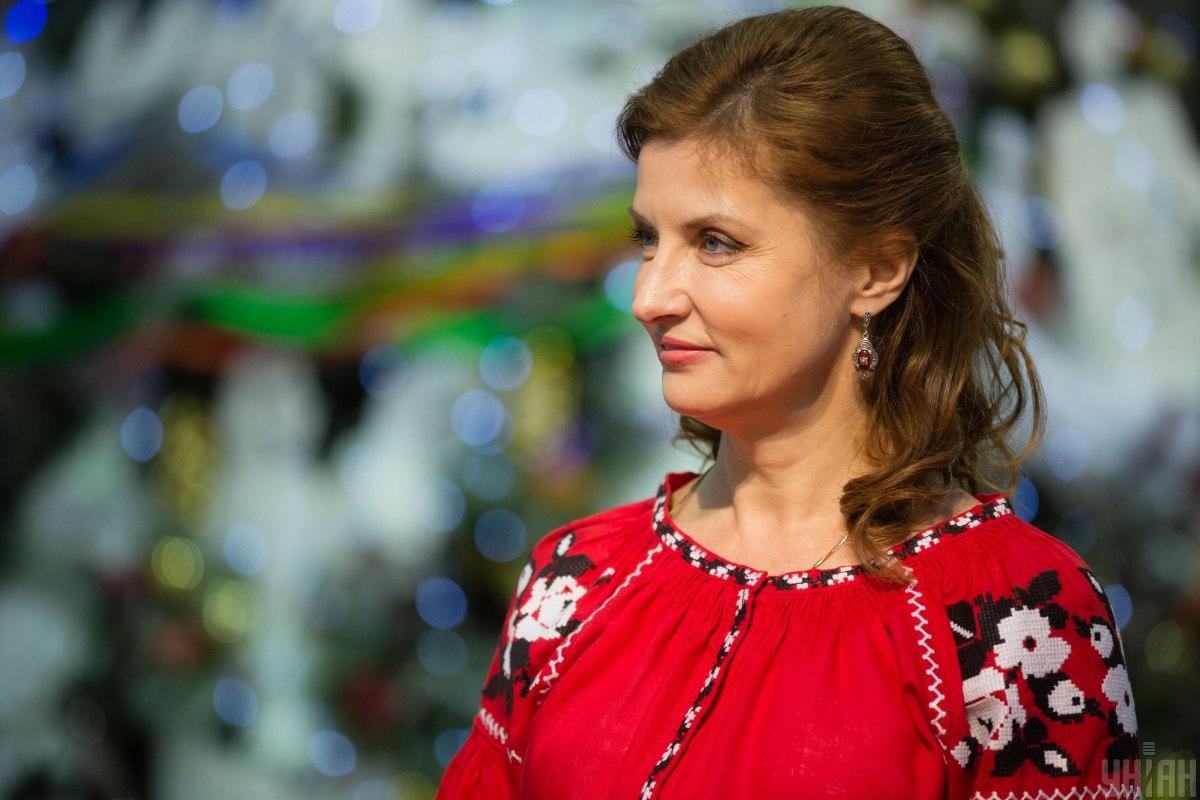 Певний час Марина Порошенко була законодавицею моди на одяг у національному стилі / фото УНІАН