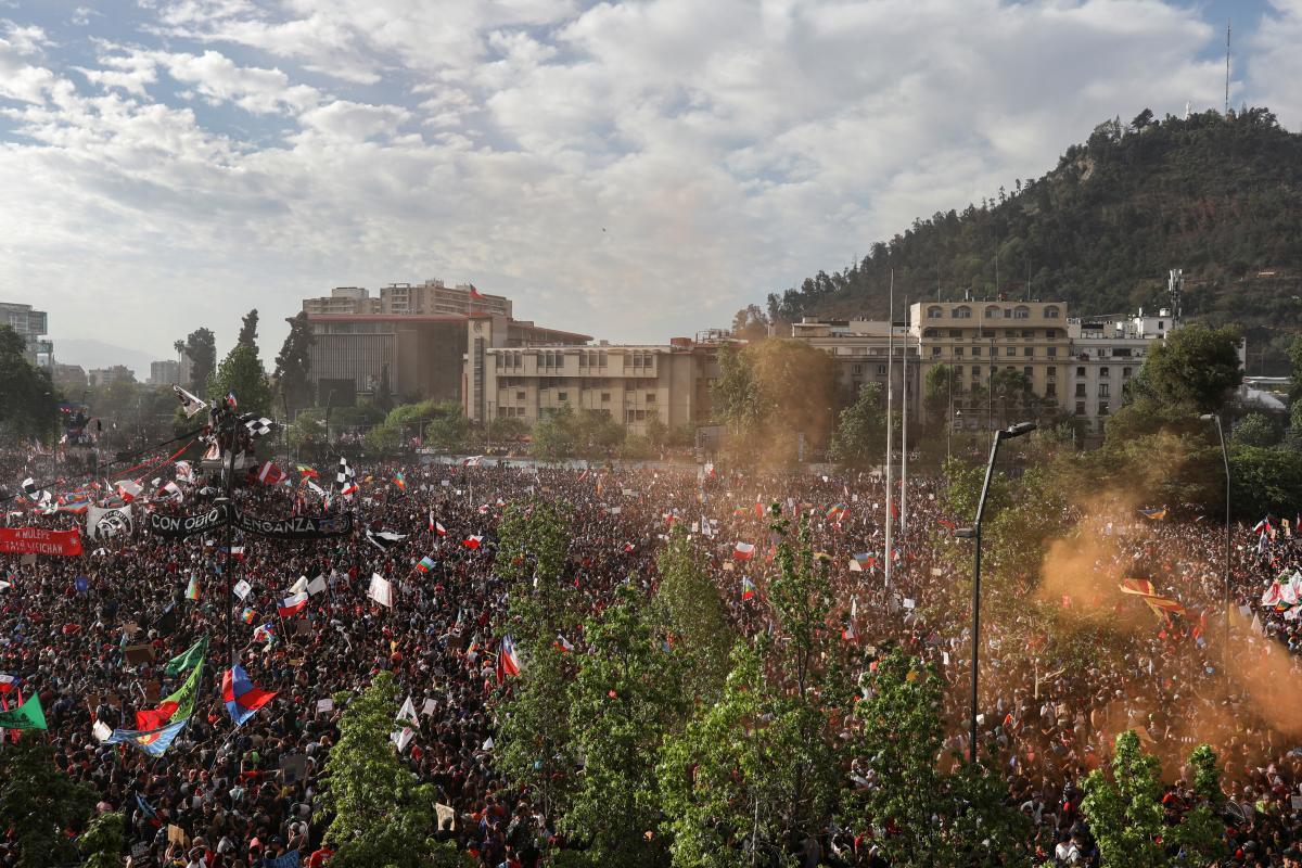 Протесты в Чили не прекращаются / REUTERS