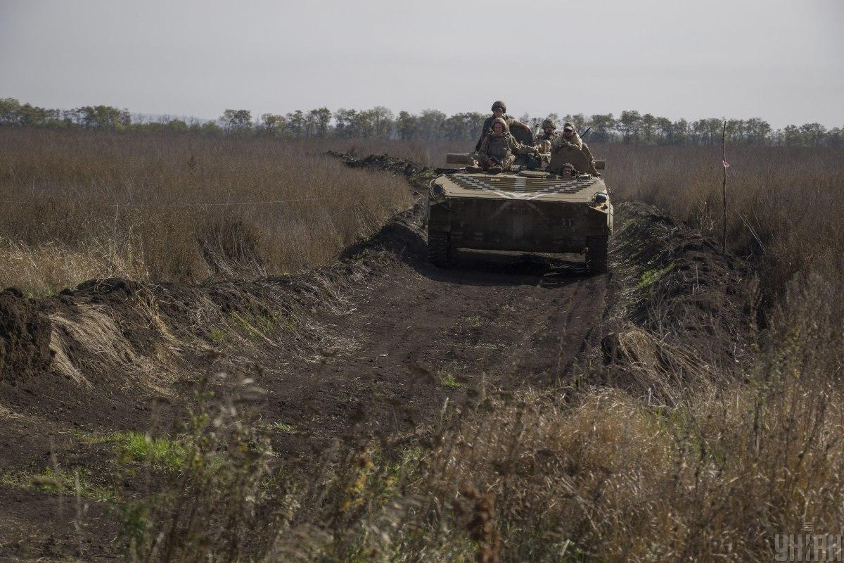 Вчера потерь в результате обстрелов среди военнослужащих Объединенных сил не было / фото УНИАН