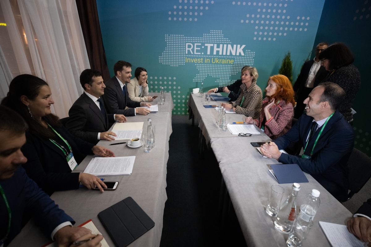 Zelensky meets with representatives of Ukraine's major donors / Photo from president.gov.ua