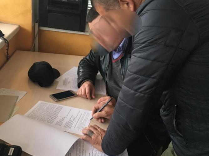Задержанному грозит наказание в виде лишения свободы на срок от 10 до 15 лет / lviv.gp.gov.ua