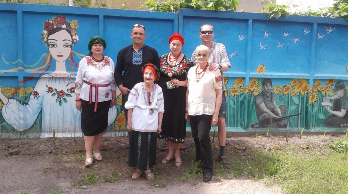 Ольга Шевченко (на переднем плане) / фото Леонід Харченко/Facebook