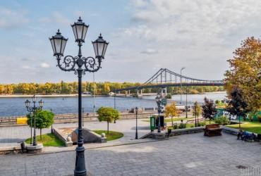 Теплая погода в Киеве установила новый температурный рекорд