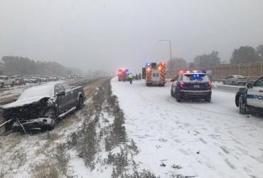 Американський штат Колорадо засипало снігом (відео)