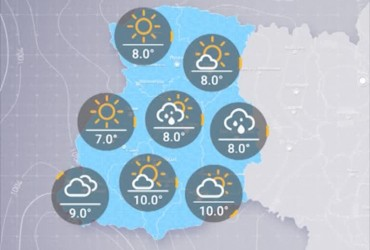 Прогноз погоды в Украине на пятницу, утро 11 октября