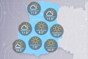 Прогноз погоди в Україні на вівторок, ранок 15 жовтня