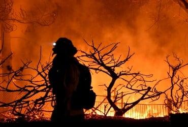 """В Чили объявили """"красное"""" предупреждение из-за лесного пожара"""