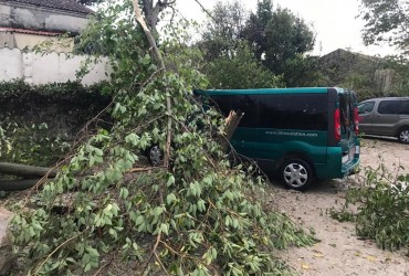 На півдні Франції пронісся торнадо