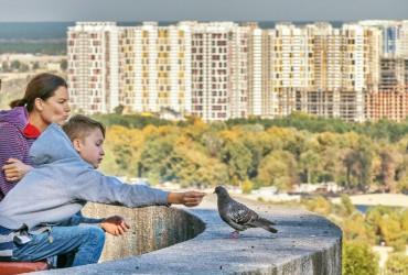 У Києві сьогодні температура до +17°, без опадів