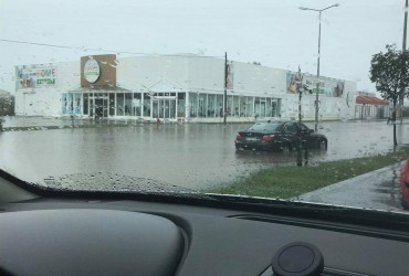 Проливные дожди затопили Португалию