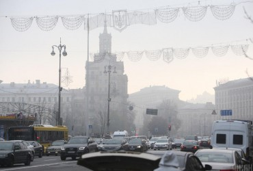 В Киеве завтра температура до +4°, без осадков