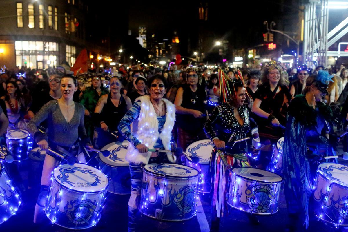 Парад на Хэллоуин в Нью-Йорке / Фото REUTERS