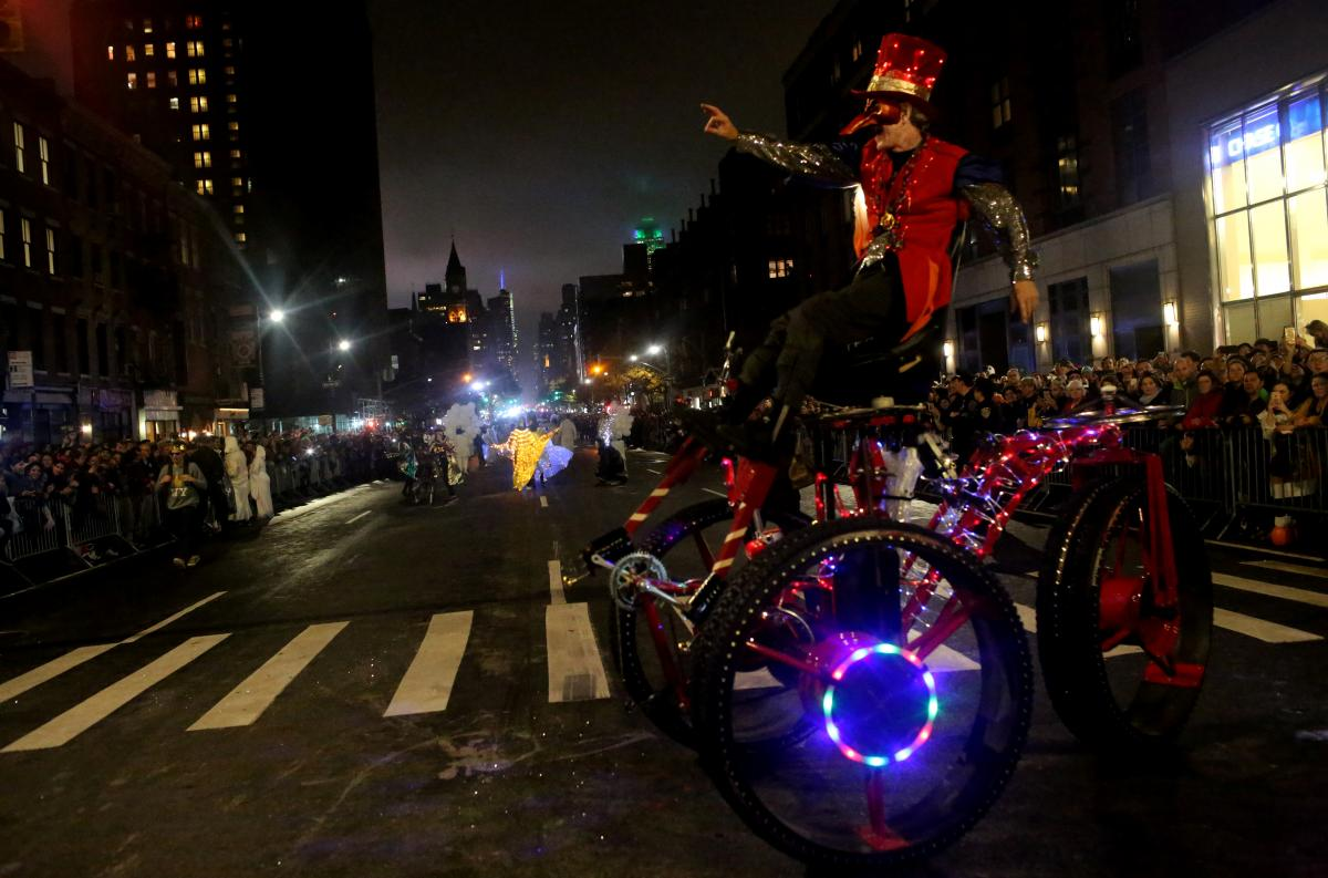 Мир отпраздновал Хэллоуин / Фото REUTERS