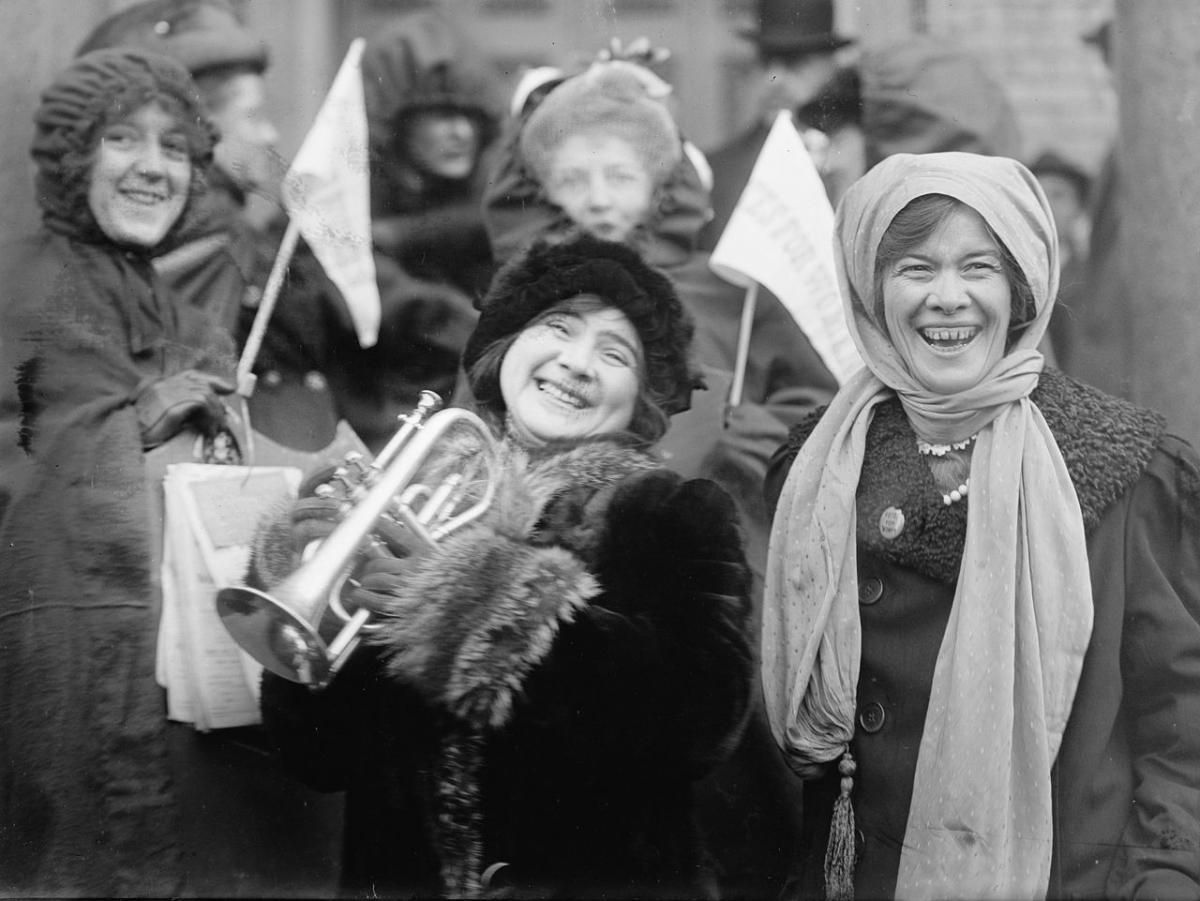 В 1893 году в американском штате Колорадоженщины получили право участвовать в выборах / Library of Congress, Prints & Photographs Division