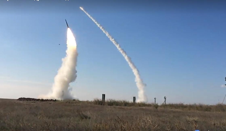 Навчальні стрільби із ЗРК С-300ПТ / скріншот