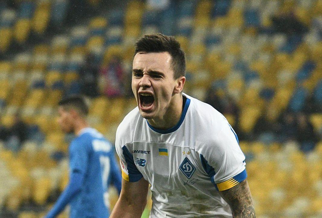 Николай Шапаренко вернулся в команду из расположения сборной / фото ФК Динамо Киев
