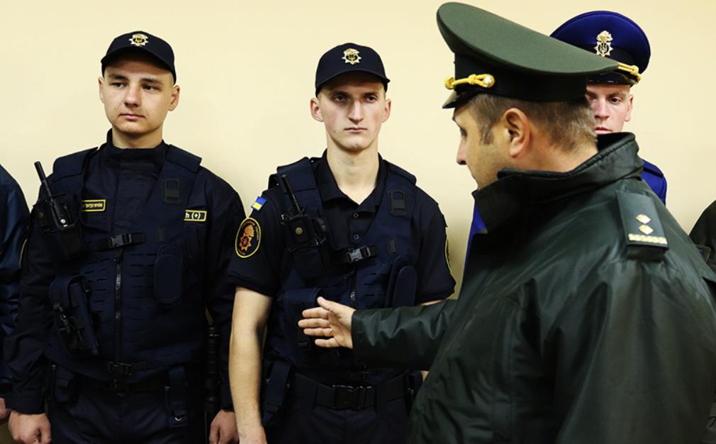 Нацгвардейцы получили новую форму \ sq.com.ua