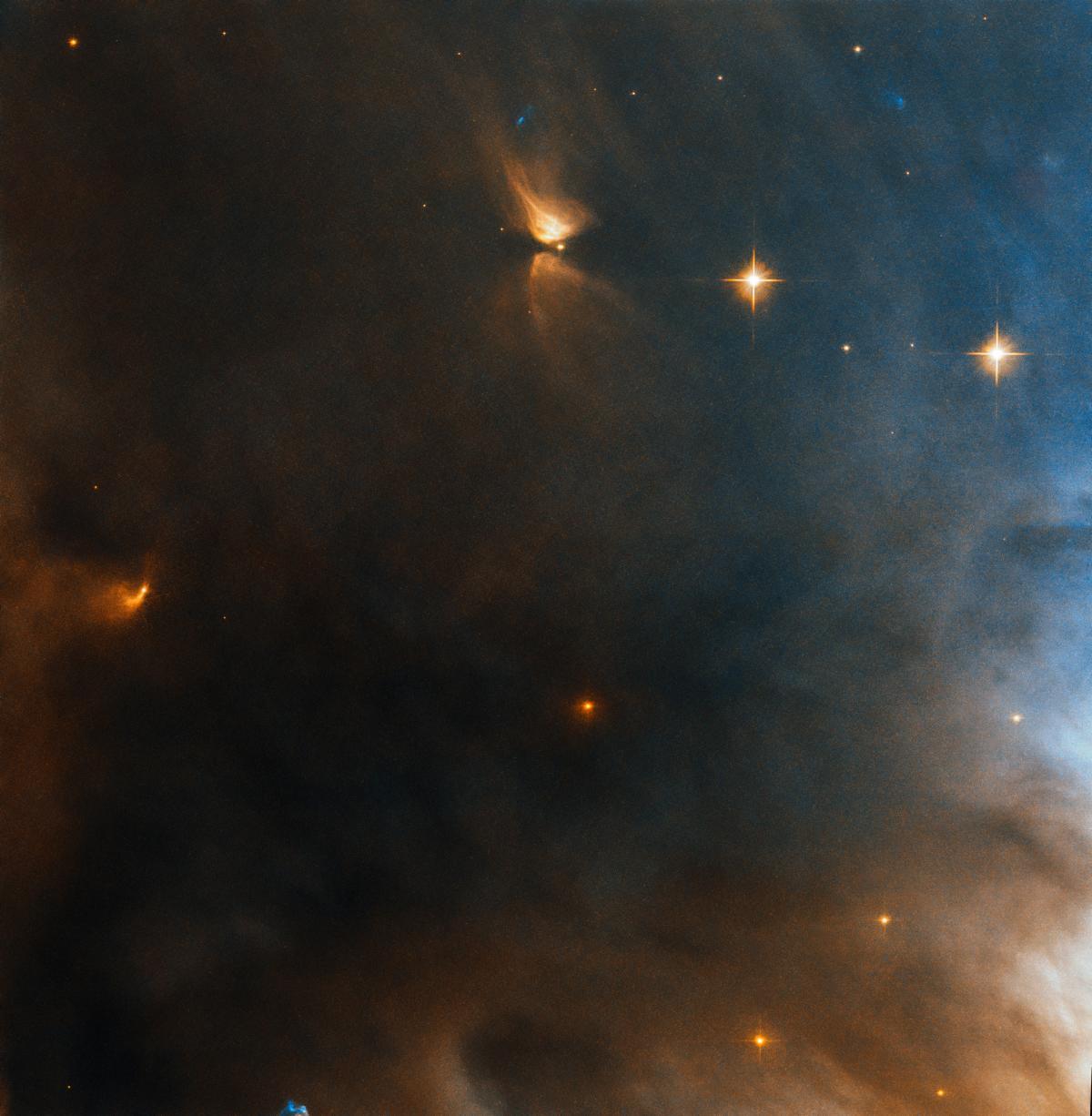 "Звездная ""команда"" в галактике NGC 1333 / фото ESA/Hubble & NASA, K. Stapelfeldt"