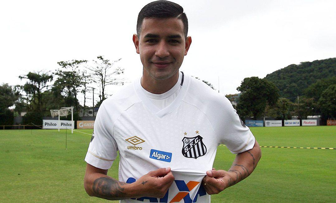 Гонсалес принадлежит Динамо с 2015 года / фото: twitter.com/santosfc