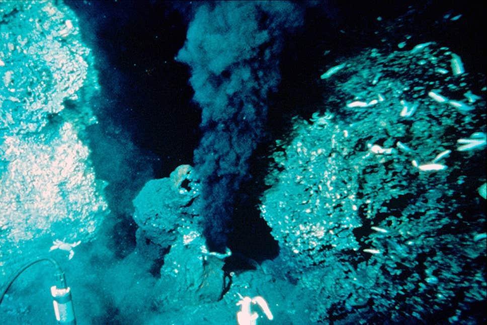 Результаты эксперимента дают надежду найти жизнь и на других планетах с подобными океанами / WR Normark, Dudley Foster, Creative Commons