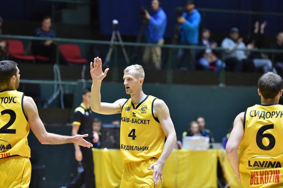 Киев-Баскет потерпел первое поражение на турнире / фото: kyiv-basket.com.ua
