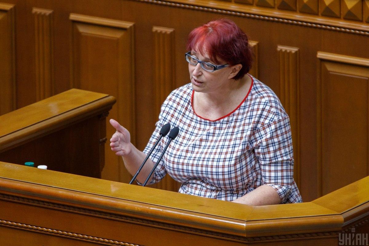 Нардеп Третьякова знову оскандалилася / фото УНІАН