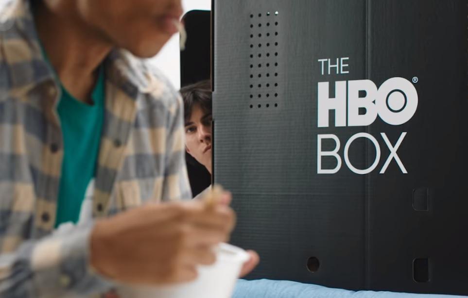 HBO рекламує картонну коробку / Скріншот - Youtube, HBO