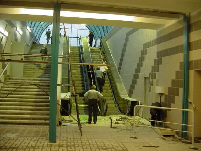 «Академмістечко» стало найбільш навантаженою станцією у 2019 році/ фото прес-служба Київського метрополітену