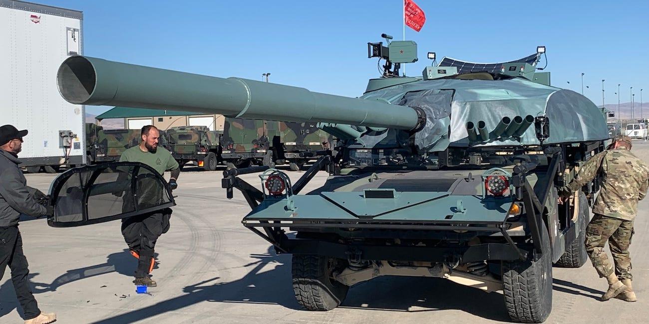 В США вчаться нищити російські Т-72 / Idaho Army National Guard