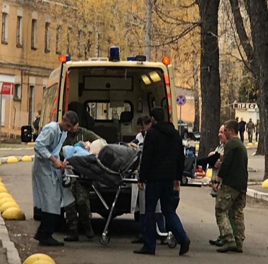 Раненые военные прибыли в столицу 6 ноября / facebook.com/nataliya.vetvitskaya