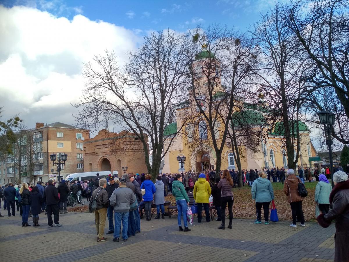 Прощание с погибшим мальчиком происходило в Стретенском соборе в центре города / фото Ирины Шевченко