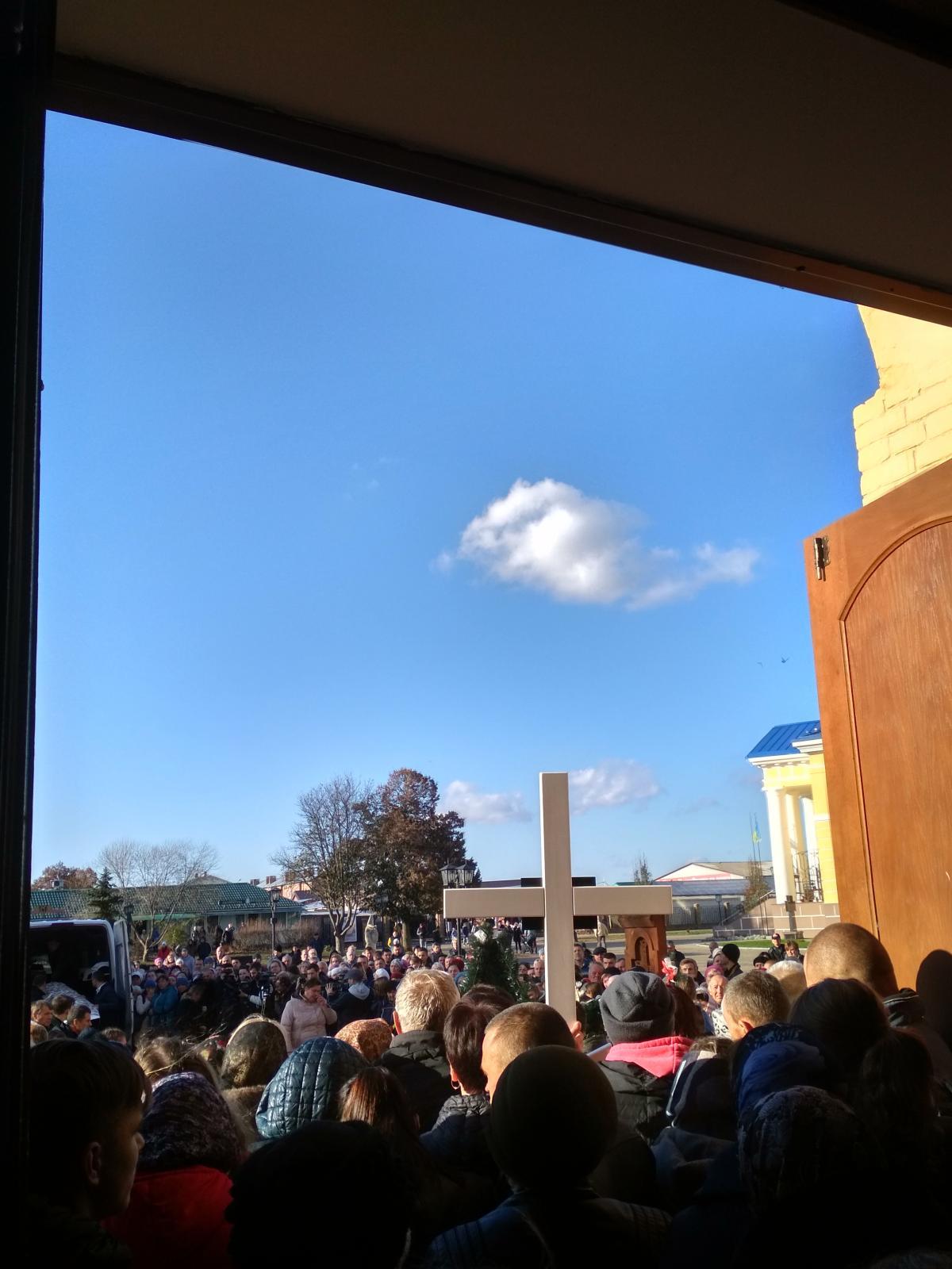 Прощание происходило в Стретенском соборе в центре города / фото Ирины Шевченко